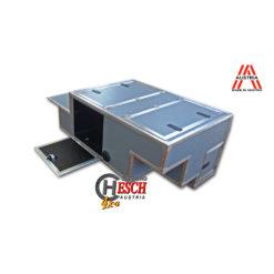 Defender Innenausbau, FrontCase Lightweight Hoch, für Fahrzeuge ohne Wassertank