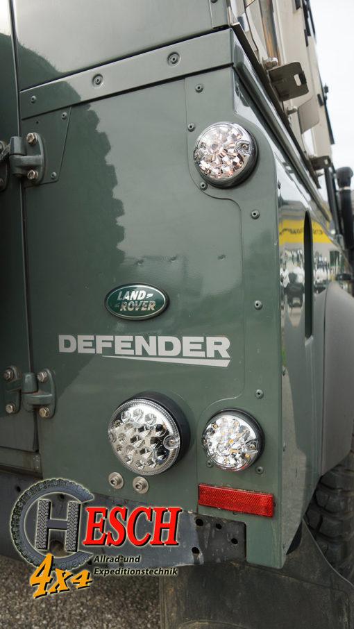 LED-Leuchtenkit weiss am Defender