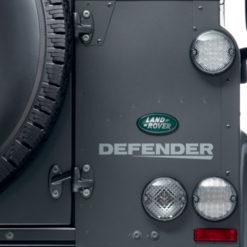 LED-Leuchtenkit weiss am Defender vorne