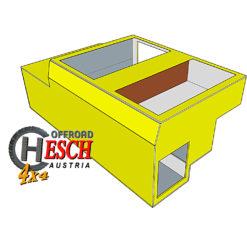 FrontCase Lightweight IR - Defender Innenausbau