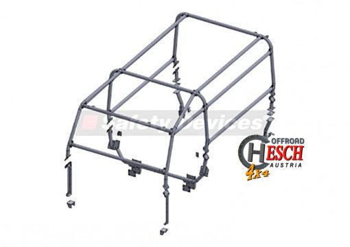 Safety Device 6-Punkt Käfig, Defender 110 HT