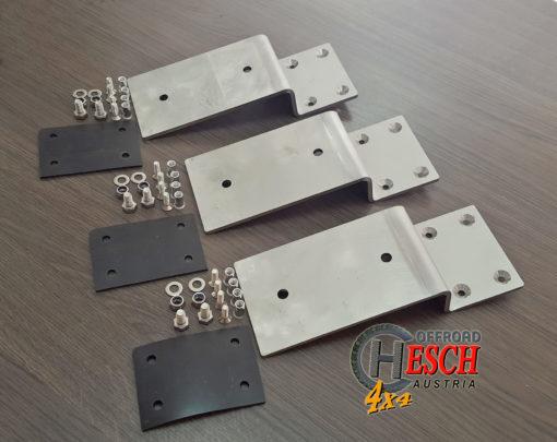 Montagekit edelstahl für Foxwing-Markise