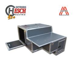 Innenausbau Defender 110, FrontCase Lightweight IX