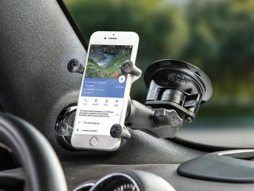 Smart Phone Saughalterung